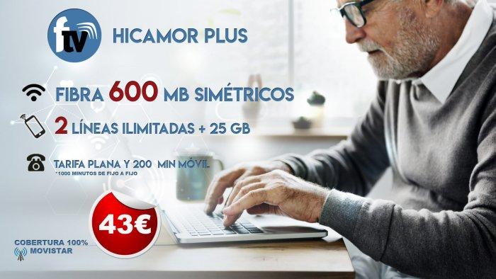 Hicamor Plus 600 Mb