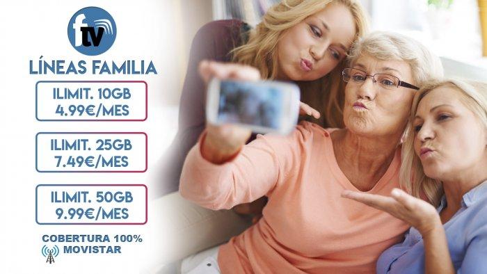 LÍNEAS MOVILES FAMILIA